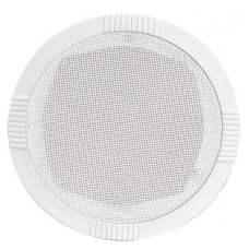 Ceiling speaker round white, 35W max.