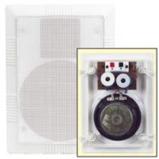 Ceiling/wall speaker white, 2-way, 50W max.