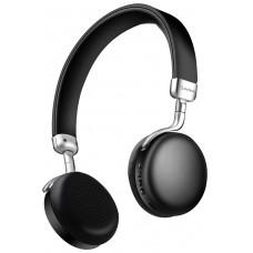 avlink Cuffie Bluetooth metallizzate Nere