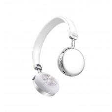 avlink Cuffie Bluetooth metallizzate Bianche
