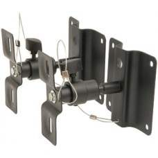 Adjustable speaker brackets - with ball joint in all directions