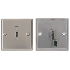 HDMI wallplate steel