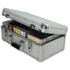 Aluminium CD flight case, 60 CDs