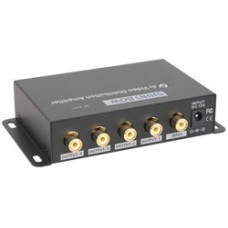 4-Way Composite Video Distribution Amplifier