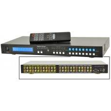 8 X 8 A/V Matrix Switcher with RS-232 & IR Remote Control
