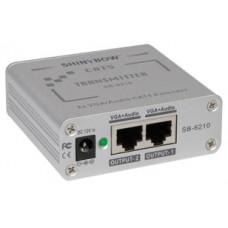 CAT 5 VGA/Audio Transmitter, Dual Outputs