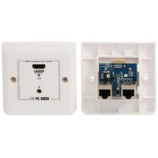 HDMI over Network Cable Wallplate Receiver