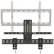 Soundbar bracket adpator for TV bracket