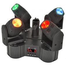 Tetramer - Quad-beam LED moving head system