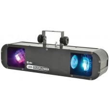 Effetto Luce Duoflower LED a doppia rotazione