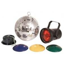 Disco set 2 with 20cm mirrorball