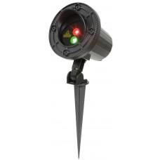 qtx Laser stellare per esterno Verde e Rosso IP65