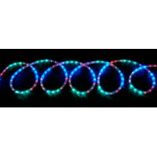 LED rope light set 10m - multi-colour