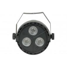 qtx Effetto luce PAR LED RGBW 3 x 4W LED con DMX