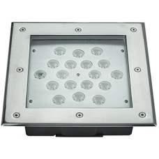 DS18M-45 Lampada quadrata a led da pavimento RGB