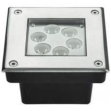 DS6M-45 Lampada quadrata a led da pavimento RGB