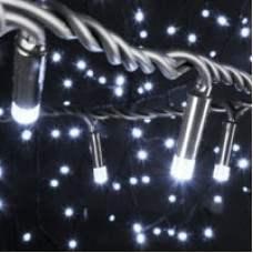 180 LED heavy duty static string light - White