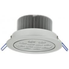YB12N LED ceiling light 12W white