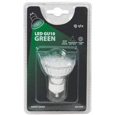 18 x Lampadina LED GU10, 230Vac - Green