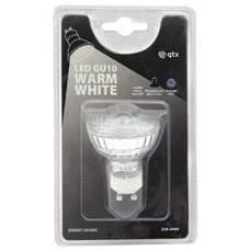 18 x Lampadina LED GU10, 230Vac - Warm White