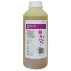 Liquido per le bolle reagente agli UV / Fluo , 1 litro