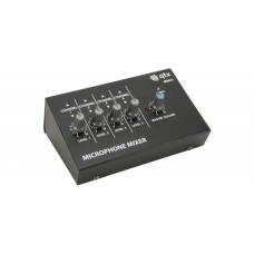4 Channel Mini Mic Mixer