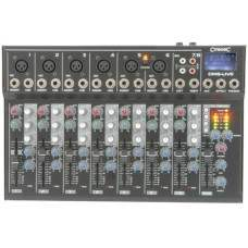 CM8-LIVE Mixer Compatto con Delay + USB/SD player
