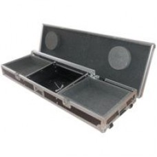 Flightcase for 8U 19 mixer and 2 x CD players/turntable