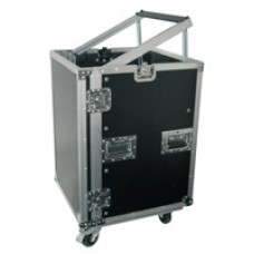16U 19 rack case with wheels