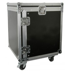 12U 19 rack case with wheels