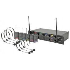 Kit Microfoni Wireless ad Archetto UHF System HU6-N