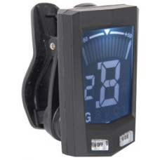 Large LCD clip-on multi-tuner
