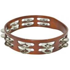 Wooden Tambourine Copper