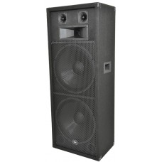 QT215 PA Speaker Box 2 x 15in 600W