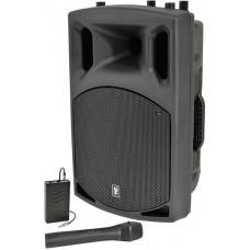 QX12AV active speaker with VHF, 12 200W