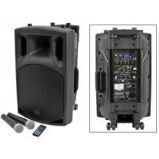 QX12PA portable PA unit with USB/SD/FM player & Bluetooth ™