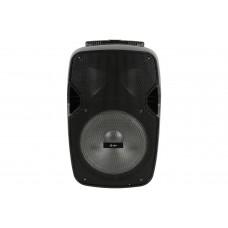 qtx Cassa acustica attiva con microfono bluetooth usb sd effetto luce led portatile PAL10
