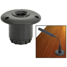 Flush mount base for conference microphone