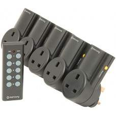 RC5 Set of 5 RF controlled socket