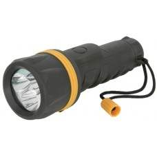 3 Straw hat LED Rubber Torch 2 x D