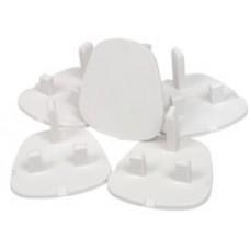 UK safety plugs, set of 5 - bag
