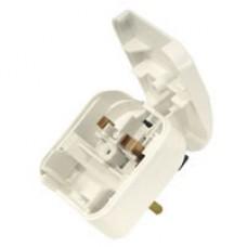 European converter plug - White