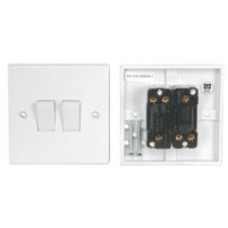 WA04 Light switch, 2 gang
