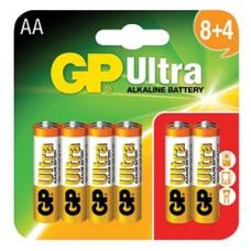 AA GP Ultra Alkaline (8+4)