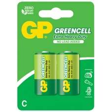 Zinc chloride batteries, C, 1.5V, packed 2 per blister