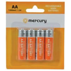 AA 1300mA NiMH battery/4