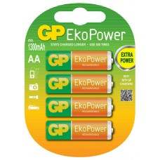 Eco Power Rechargeable 1300mAh AA 4pcs Batteries