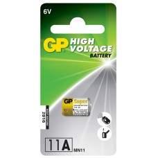 11A 6V alkaline battery - 1 piece blister