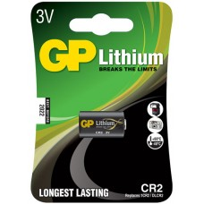Lithium photo cell, CR2, 3V, packed 1 per blister - 15.6 x 27mm