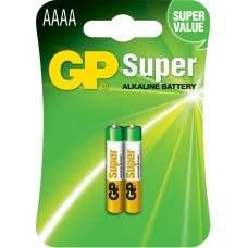 Alkaline Battery, AAAA x 2, 1.5V